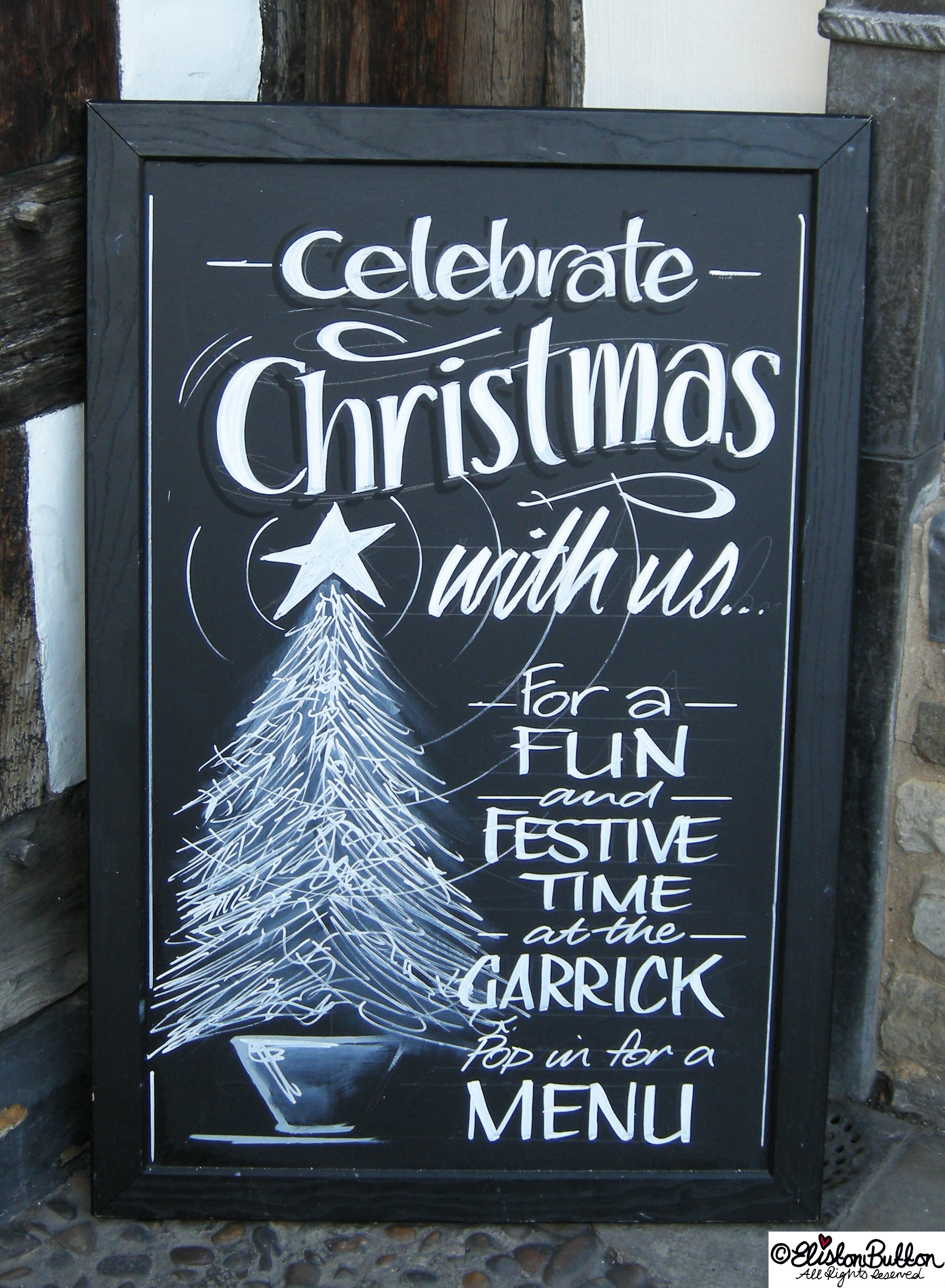 Mulled Wine Chalkboard Hand Lettering - Hello Winter... at www.elistonbutton.com - Eliston Button - That Crafty Kid – Art, Design, Craft & Adventure.