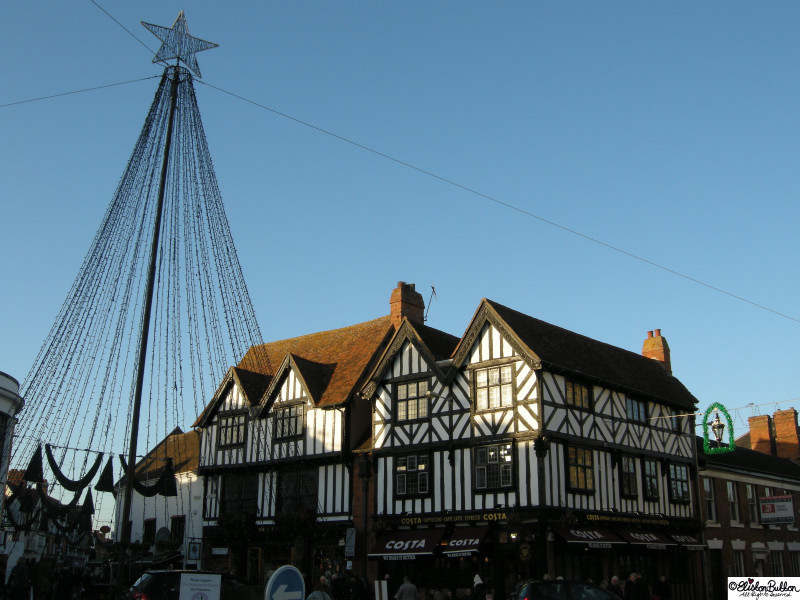 Stratford-upon-Avon at Christmas Time - Hello Winter... at www.elistonbutton.com - Eliston Button - That Crafty Kid – Art, Design, Craft & Adventure.
