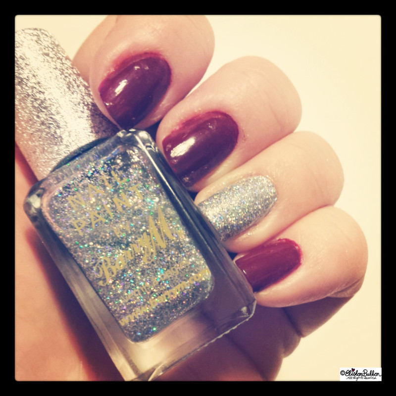 Festive Barry M Nail Polish - Hello Winter...Part Two at www.elistonbutton.com - Eliston Button - That Crafty Kid – Art, Design, Craft & Adventure.