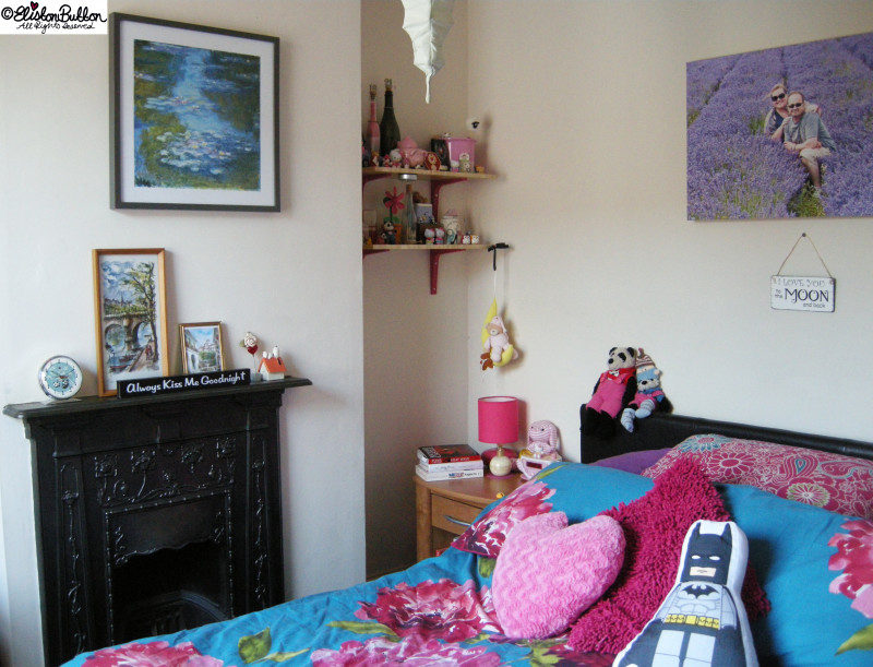 Adding Colour to Rented Home Decor - The Bedroom - Workspace Wednesday - Bedroom Makeover at www.elistonbutton.com - Eliston Button - That Crafty Kid – Art, Design, Craft & Adventure.