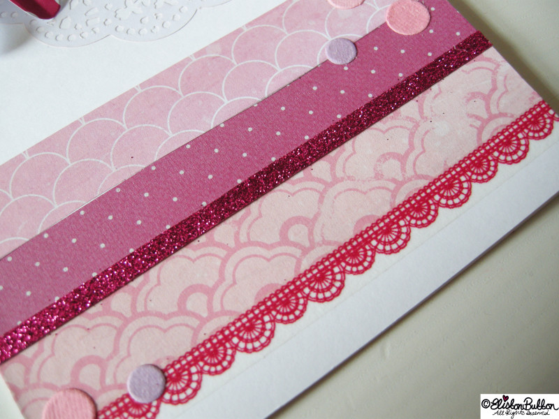Lace Like Washi Tape Detail - A Creative Card at www.elistonbutton.com - Eliston Button - That Crafty Kid – Art, Design, Craft & Adventure.