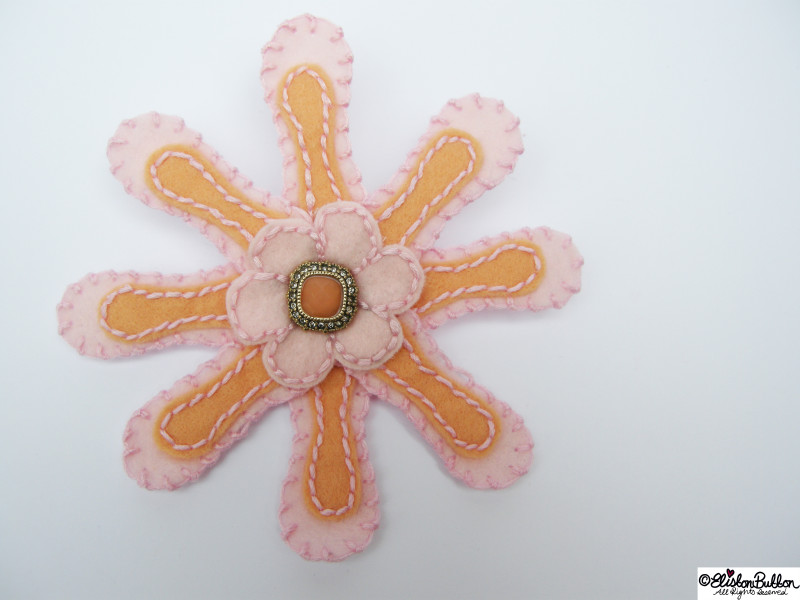'Ballet Slipper' is number 9 in the '27 before 27' blog challenge at www.elistonbutton.com - Eliston Button - That Crafty Kid