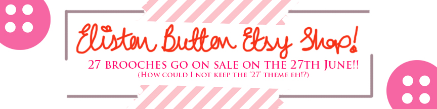 Etsy Shop Opening! - 27 Before 27 - I Did It! (and two big announcements) at www.elistonbutton.com - Eliston Button - That Crafty Kid – Art, Design, Craft & Adventure.