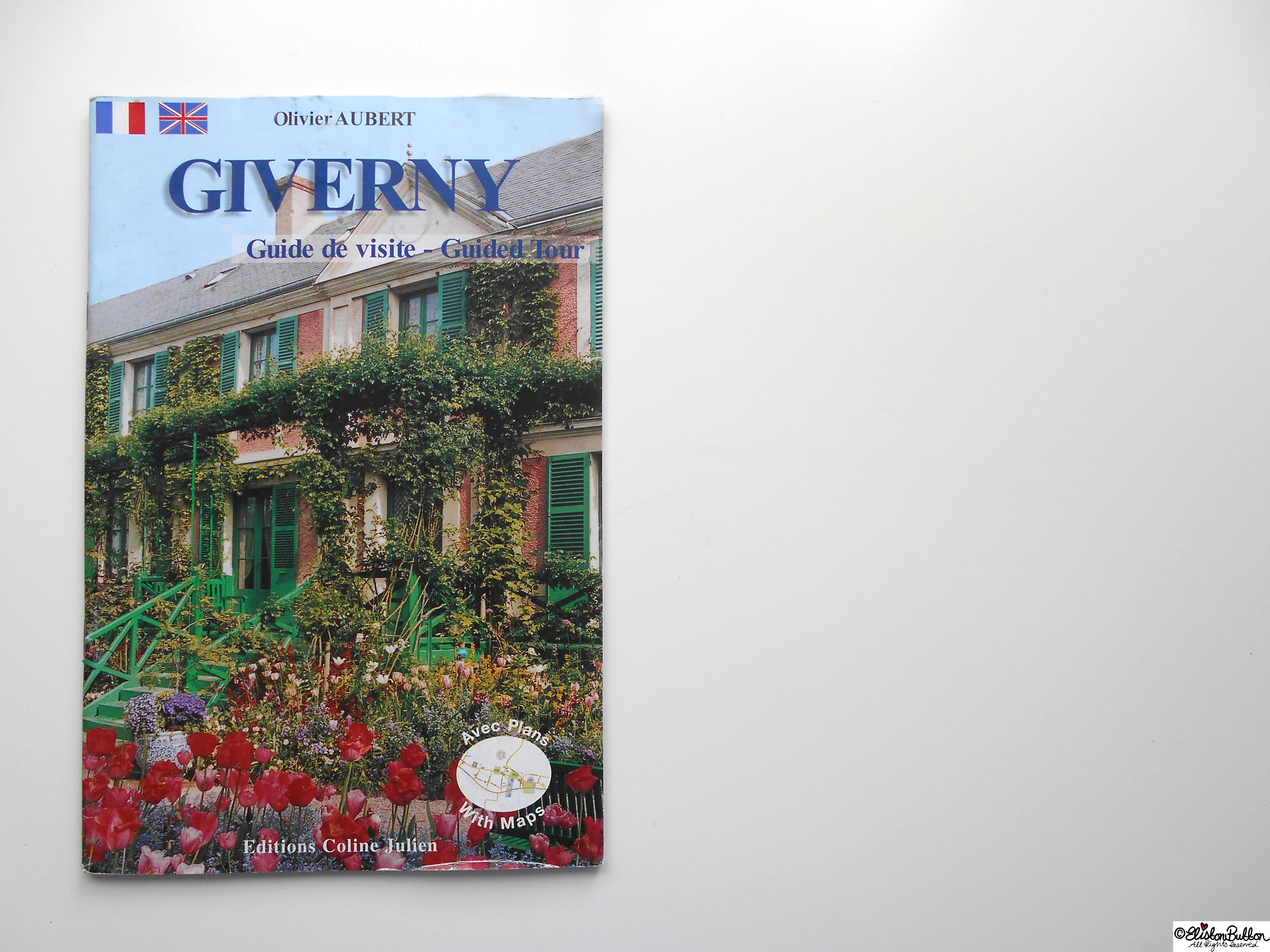 Giverny Guide Book - Gifts from France at www.elistonbutton.com - Eliston Button - That Crafty Kid – Art, Design, Craft & Adventure.
