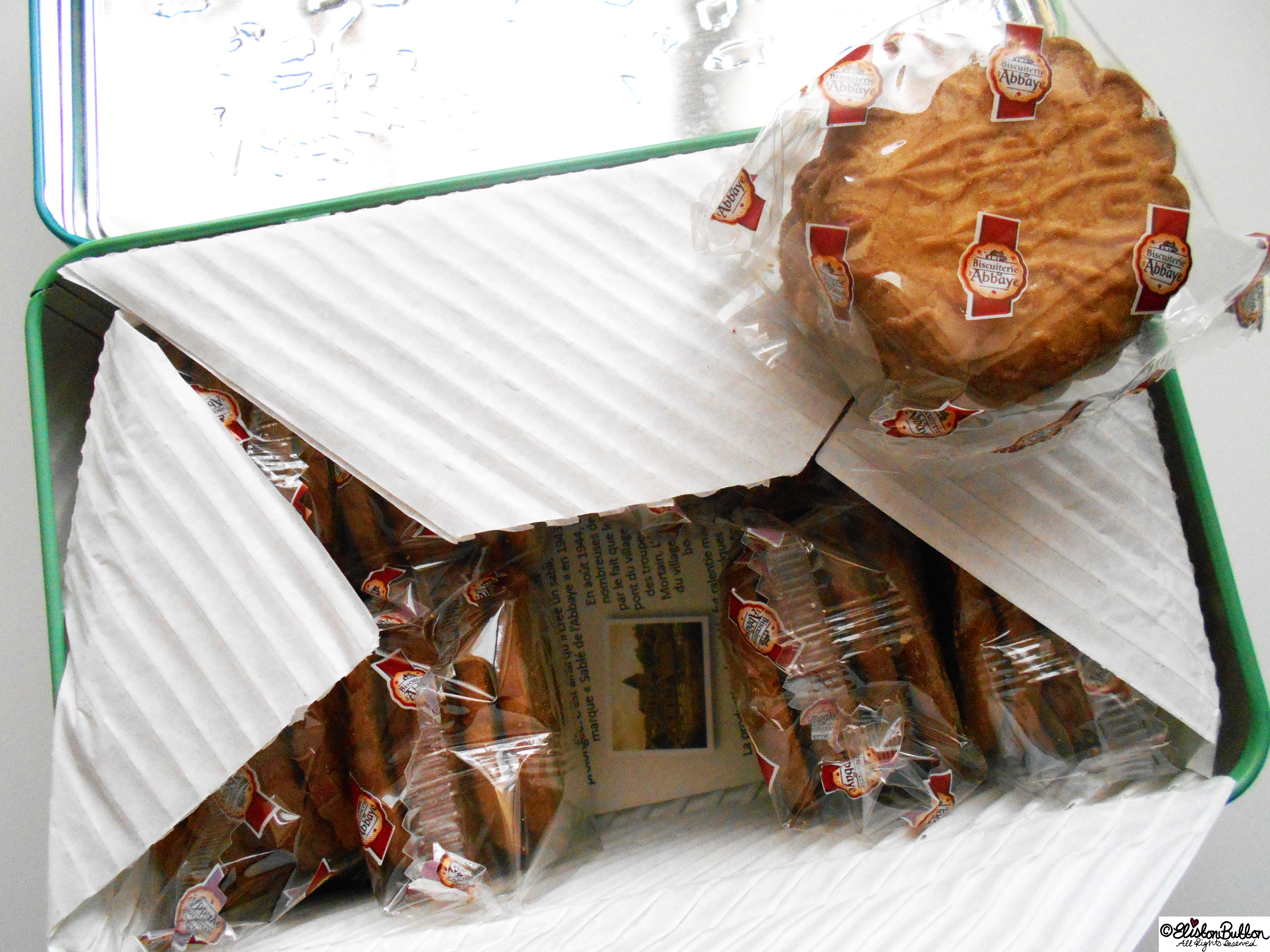 French Biscuits - Gifts from France at www.elistonbutton.com - Eliston Button - That Crafty Kid – Art, Design, Craft & Adventure.