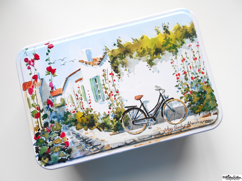 French Biscuit Tin - Gifts from France at www.elistonbutton.com - Eliston Button - That Crafty Kid – Art, Design, Craft & Adventure.