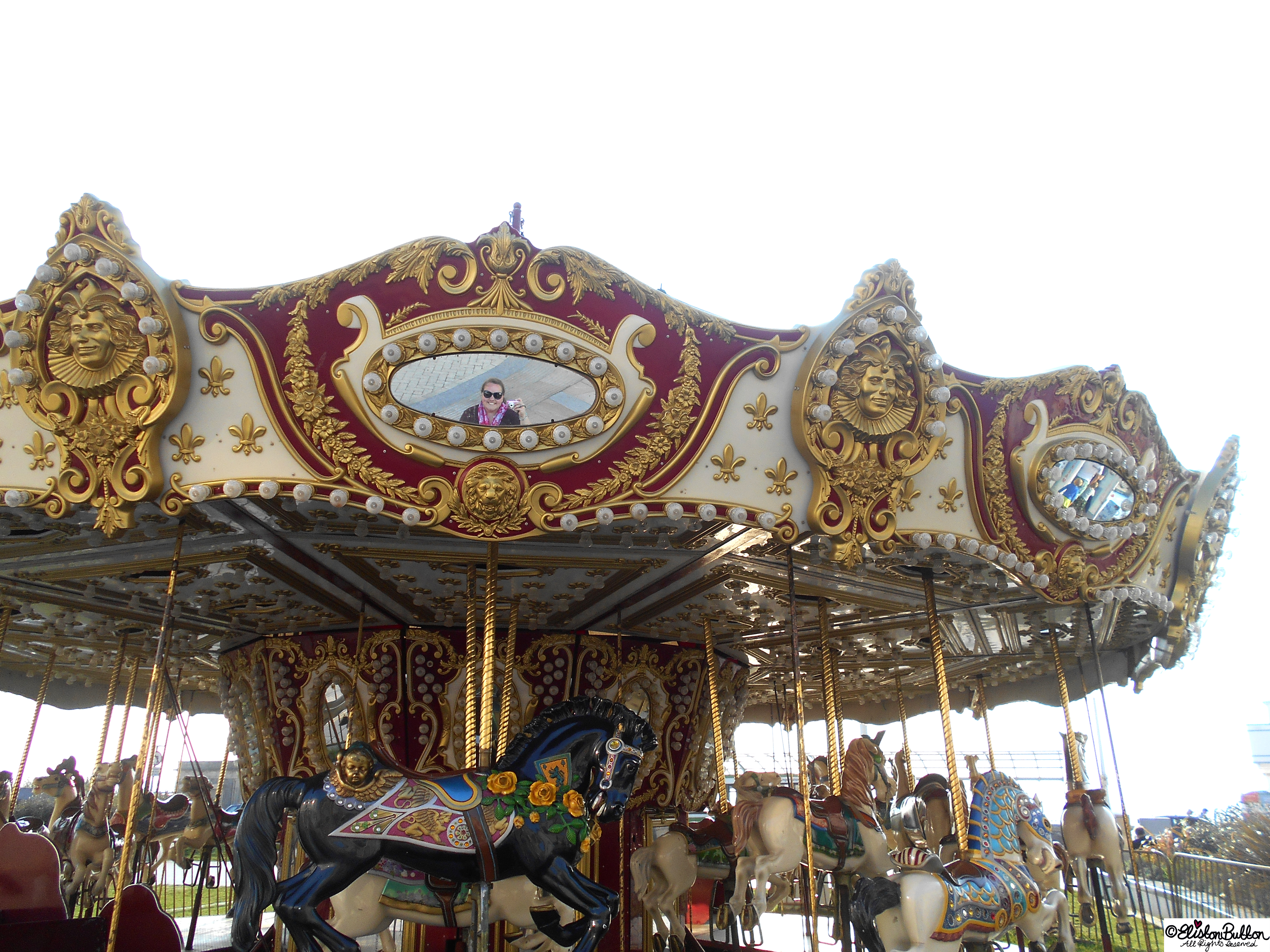 Merry-Go-Round - The Great British Seaside (and an Eliston Button Autumn Sale) at www.elistonbutton.com - Eliston Button - That Crafty Kid – Art, Design, Craft & Adventure.