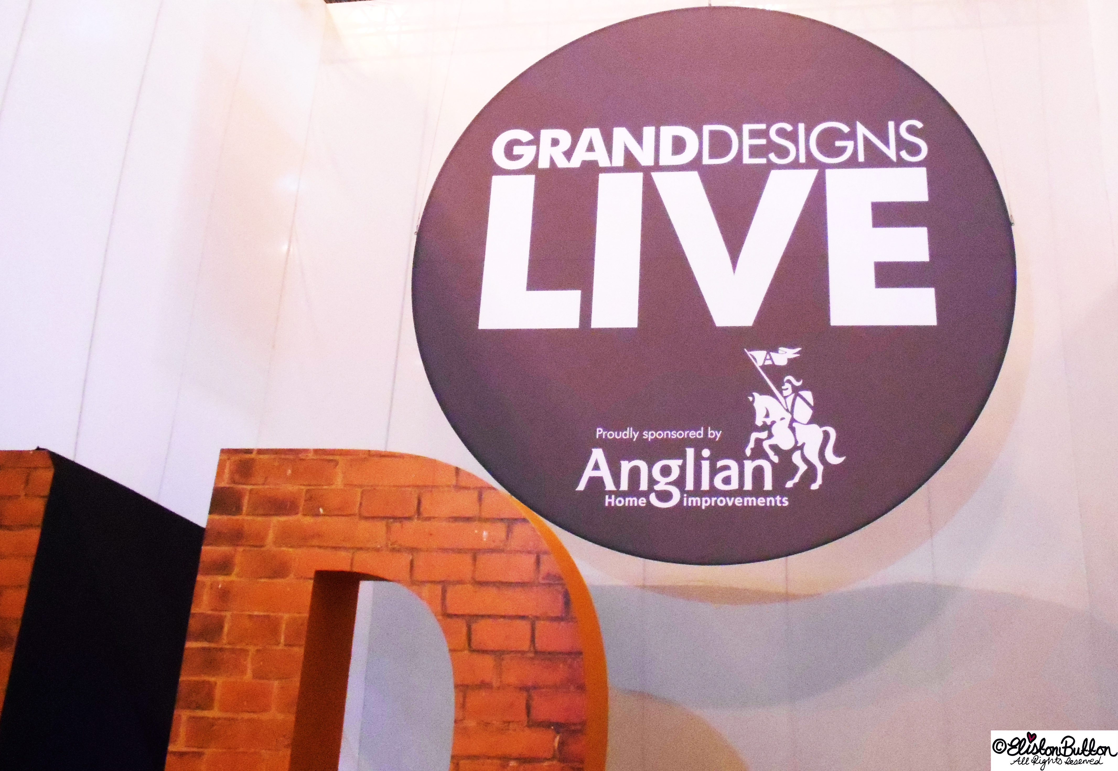 Grand Designs Live Show - Grand Designs Live - Part One at www.elistonbutton.com - Eliston Button - That Crafty Kid – Art, Design, Craft & Adventure.
