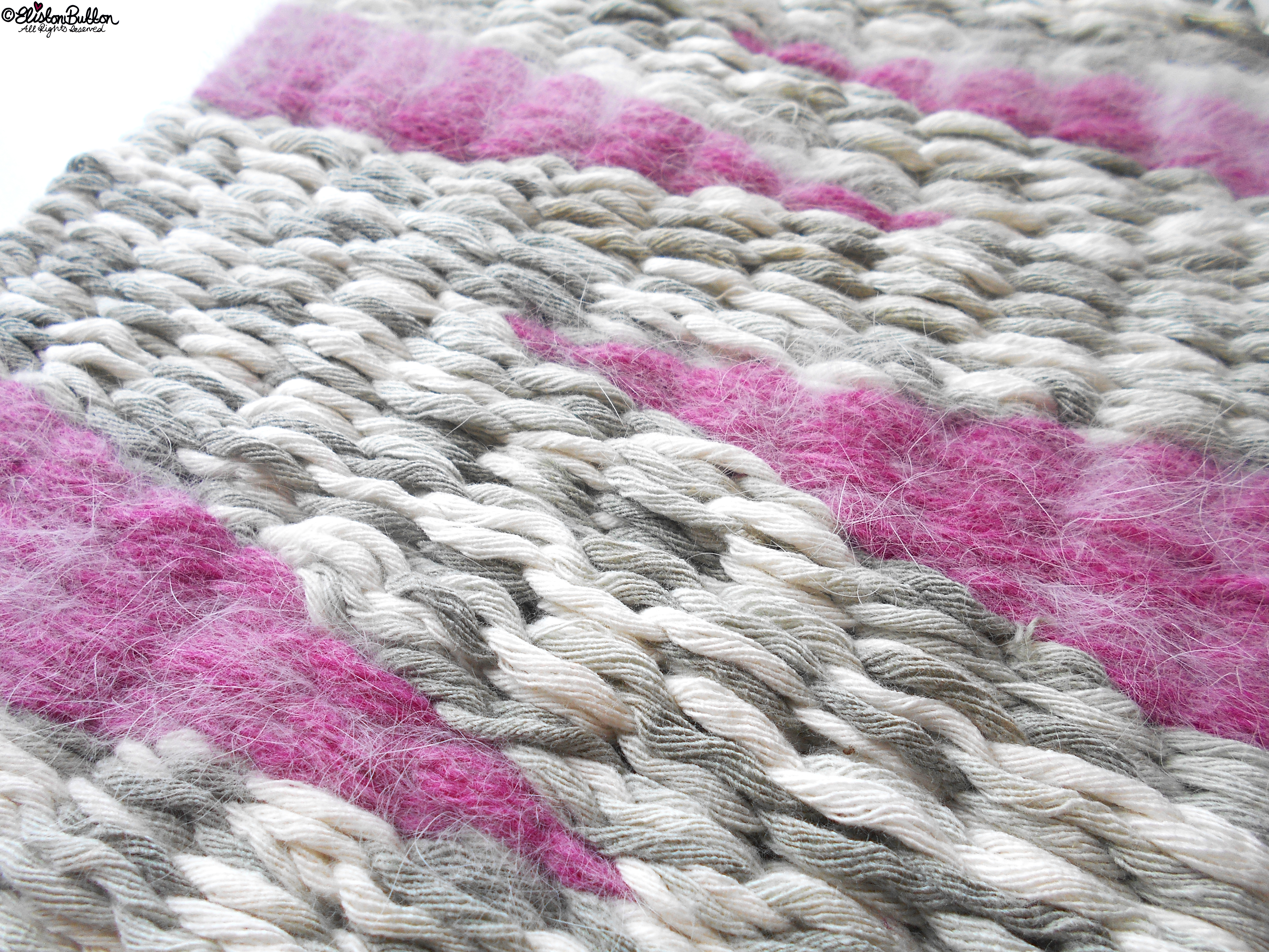 Pale Grey and Pink Weaving - Workspace Wednesday - Weave It To Me...at www.elistonbutton.com - Eliston Button - That Crafty Kid – Art, Design, Craft & Adventure.