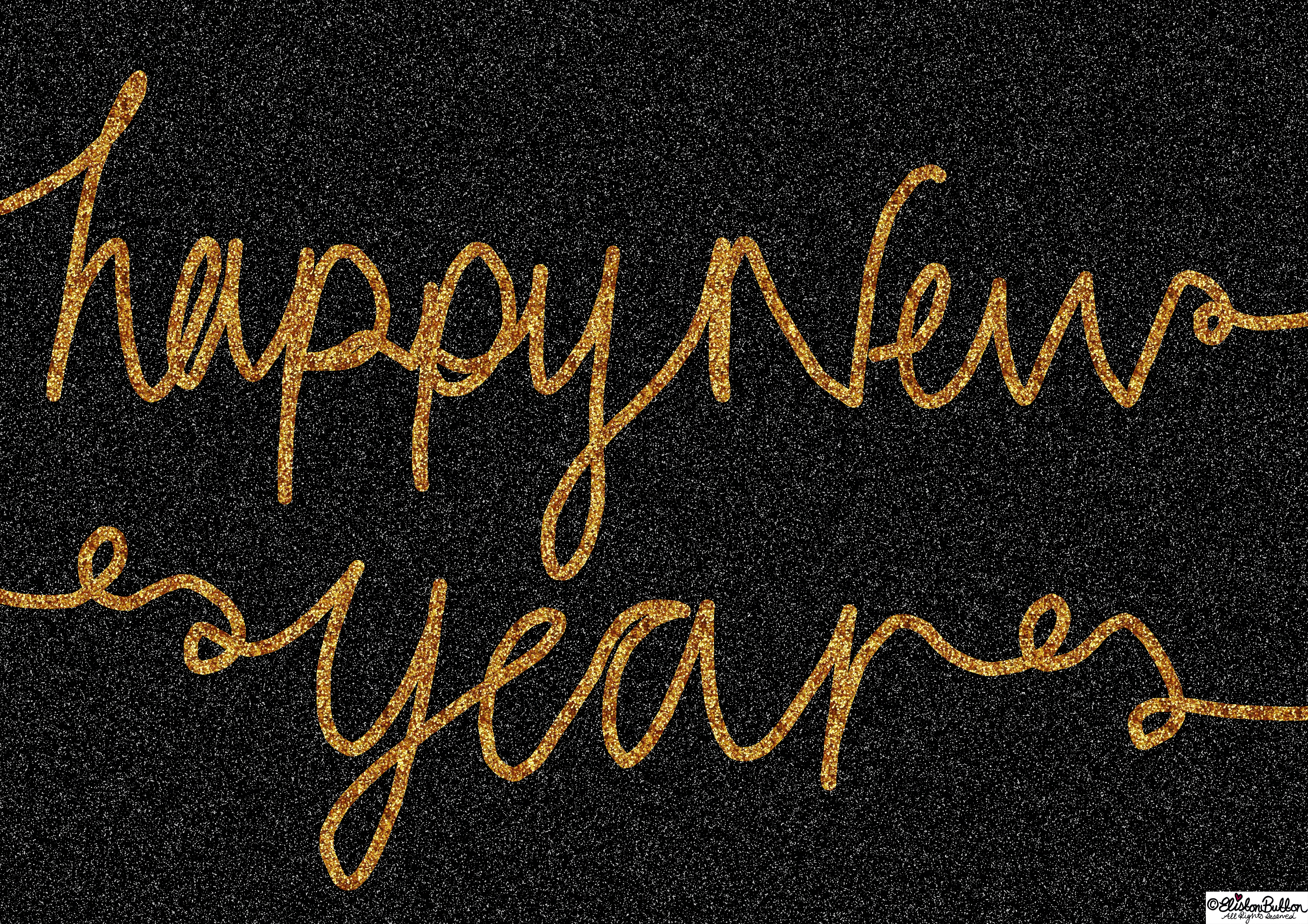 Happy New Year - Merry Christmas, Happy Holidays and a Fabulous New Year at www.elistonbutton.com - Eliston Button - That Crafty Kid – Art, Design, Craft & Adventure.