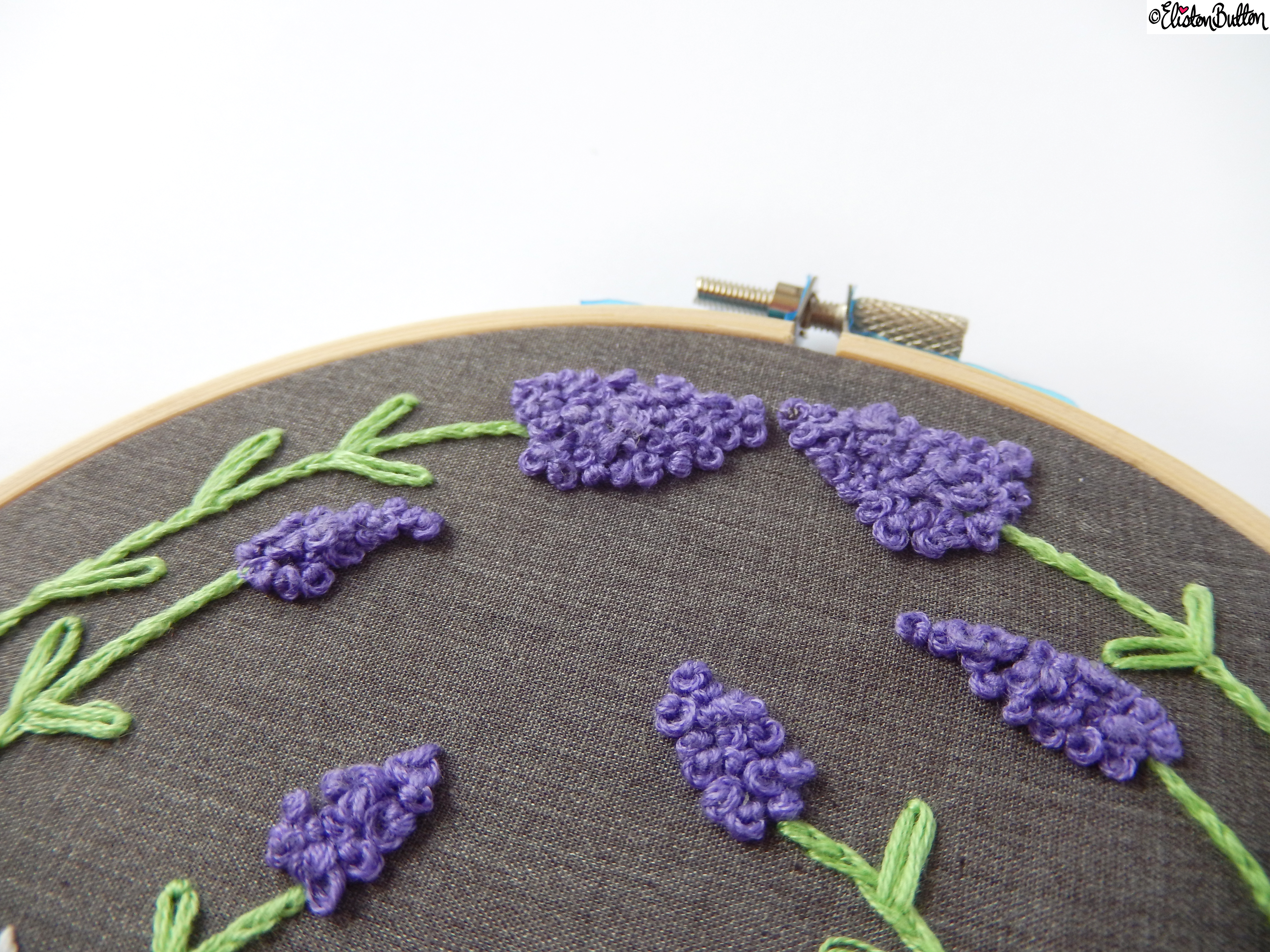 Bonjour French Inspired Embroidery Hoop Wall Art  (7) - Create 28 - No.28 - Embroidery Hoop Wall Art at www.elistonbutton.com - Eliston Button - That Crafty Kid – Art, Design, Craft & Adventure.