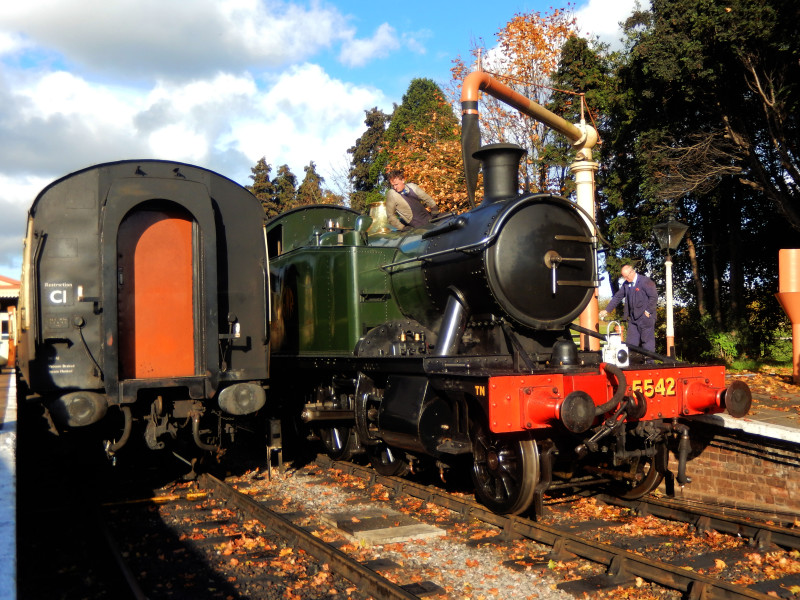 Gloucestershire Warwickshire Steam Railway - Fuelling Up at Toddington Staion - This Steam Train Stops at Hogwarts...Right!?
