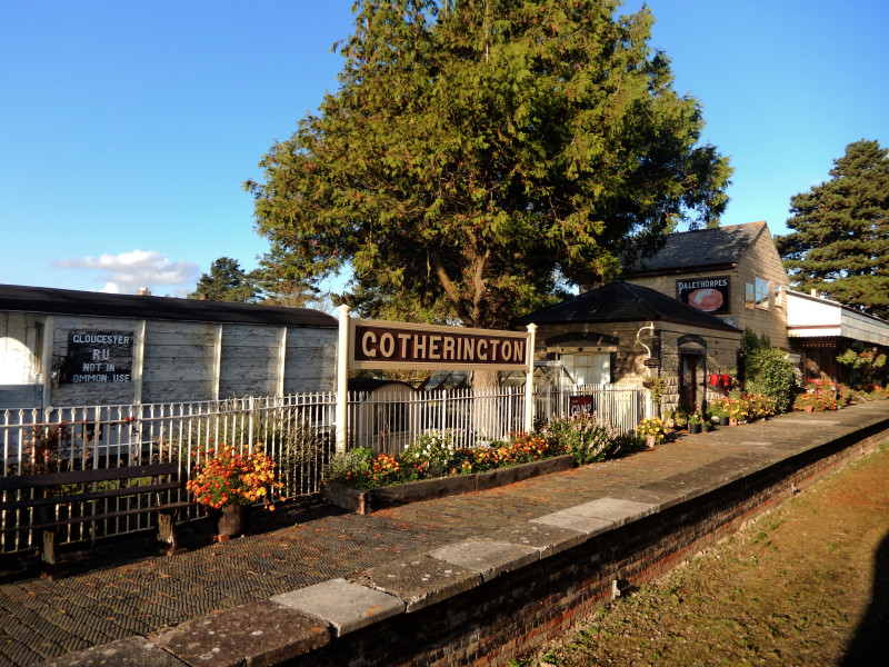 Gloucestershire Warwickshire Steam Railway - Gotherington Station - This Steam Train Stops at Hogwarts...Right!?