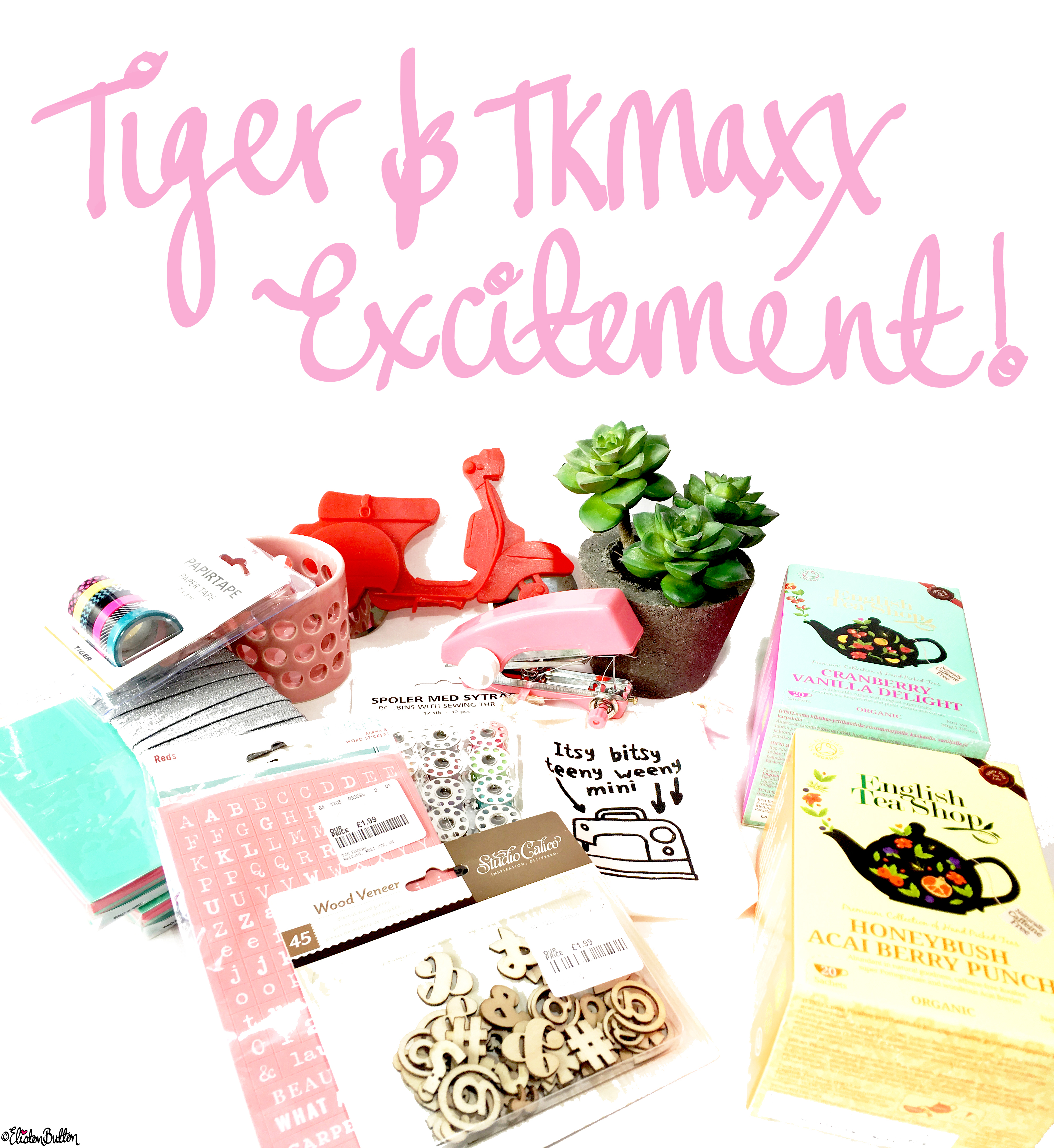 Tiger and TKMaxx Excitement! at www.elistonbutton.com - Eliston Button - That Crafty Kid – Art, Design, Craft & Adventure.