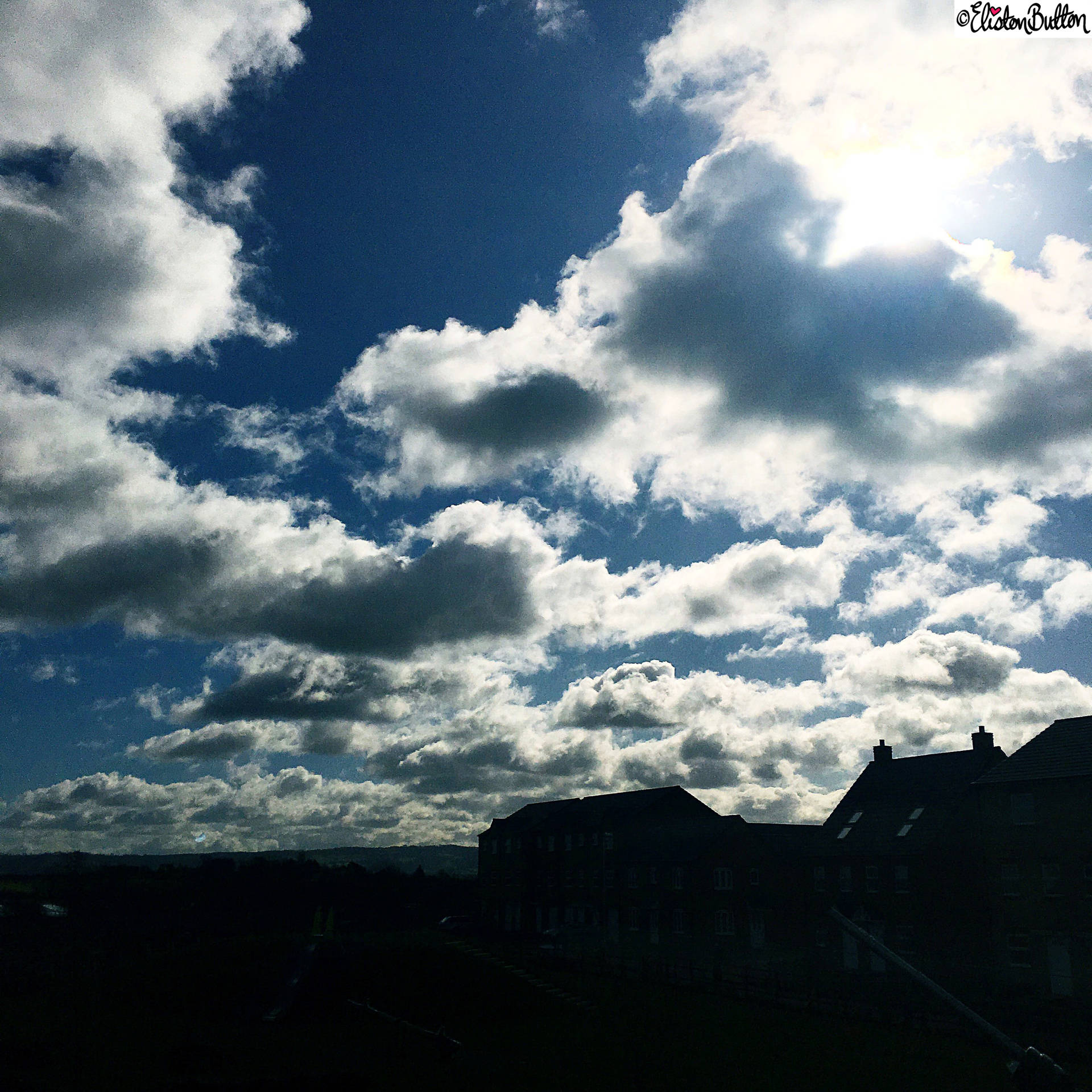 Day 04 - The Weather - Sun and Clouds - Photo-a-Day – March 2016 at www.elistonbutton.com - Eliston Button - That Crafty Kid – Art, Design, Craft & Adventure.