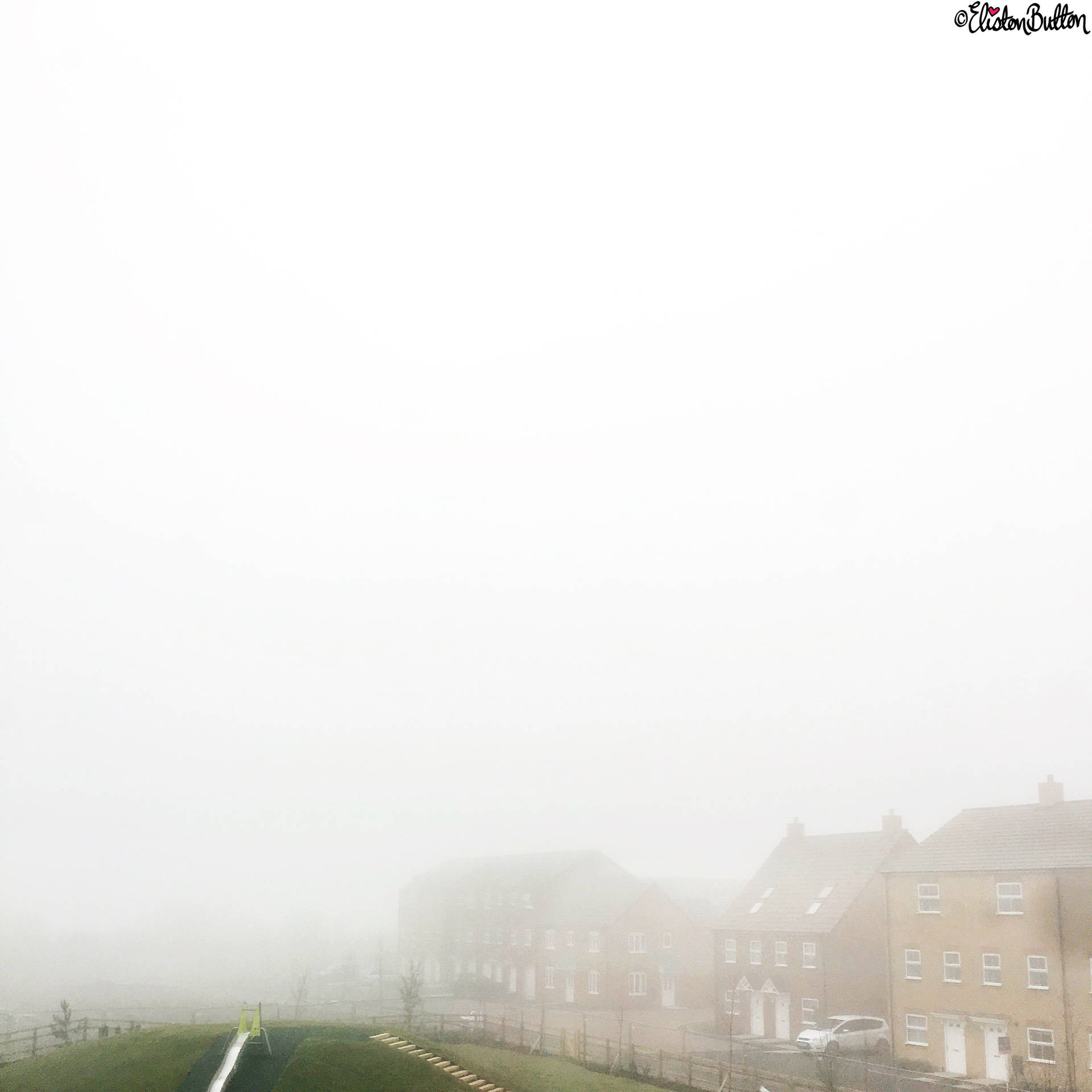 Day 11 - Clouds - Foggy Minimalist Photograph - Photo-a-Day – March 2016 at www.elistonbutton.com - Eliston Button - That Crafty Kid – Art, Design, Craft & Adventure.