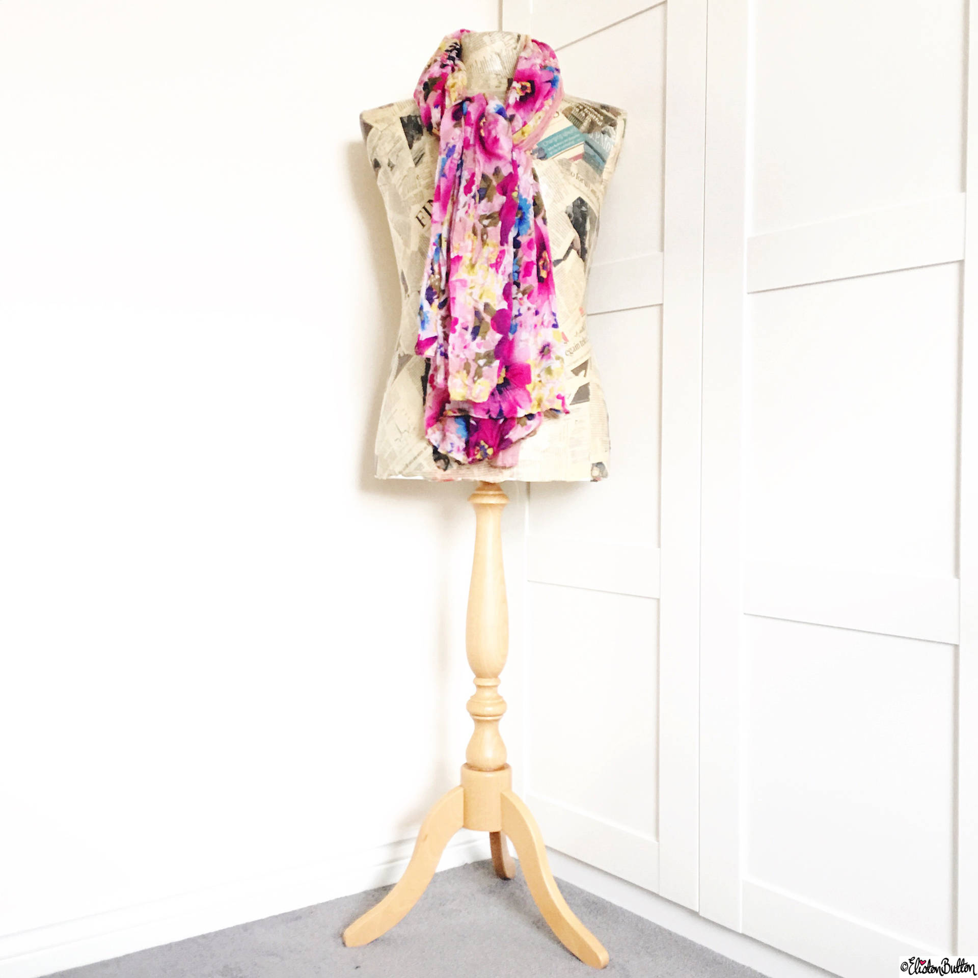 Day 09 - I Found This - Dress Makers Dress Form Mannequin - Photo-a-Day – April 2016 at www.elistonbutton.com - Eliston Button - That Crafty Kid – Art, Design, Craft & Adventure.