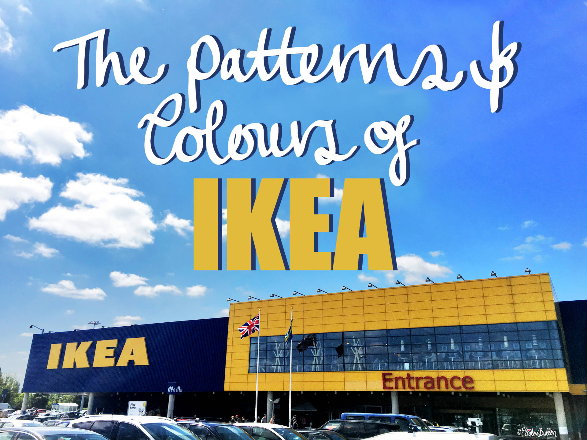 The Patterns and Colours of IKEA at www.elistonbutton.com - Eliston Button - That Crafty Kid – Art, Design, Craft & Adventure.