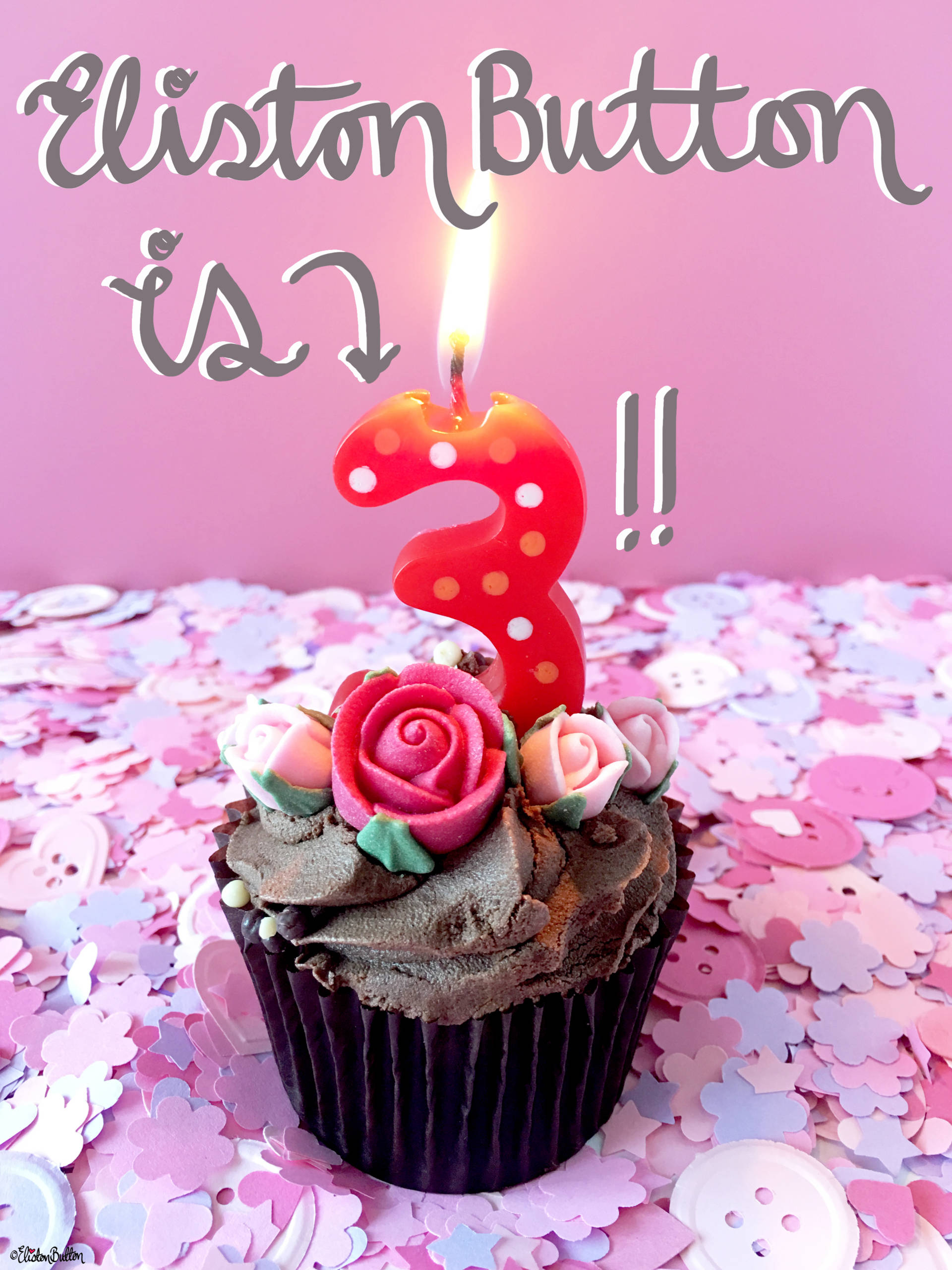 Eliston Button is 3! at www.elistonbutton.com - Eliston Button - That Crafty Kid – Art, Design, Craft & Adventure.