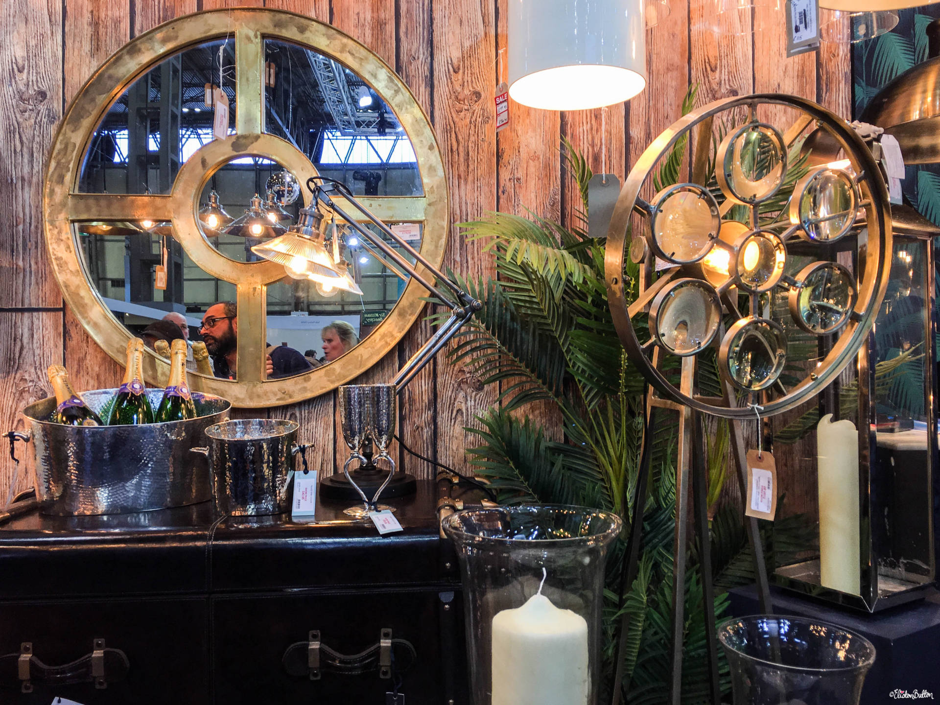 Beautiful Lighting and Home Decor from Culinary Concepts at Grand Designs Live 2017 with Eliston Button - Grand Designs Live 2017 – Part One at www.elistonbutton.com - Eliston Button - That Crafty Kid – Art, Design, Craft & Adventure.