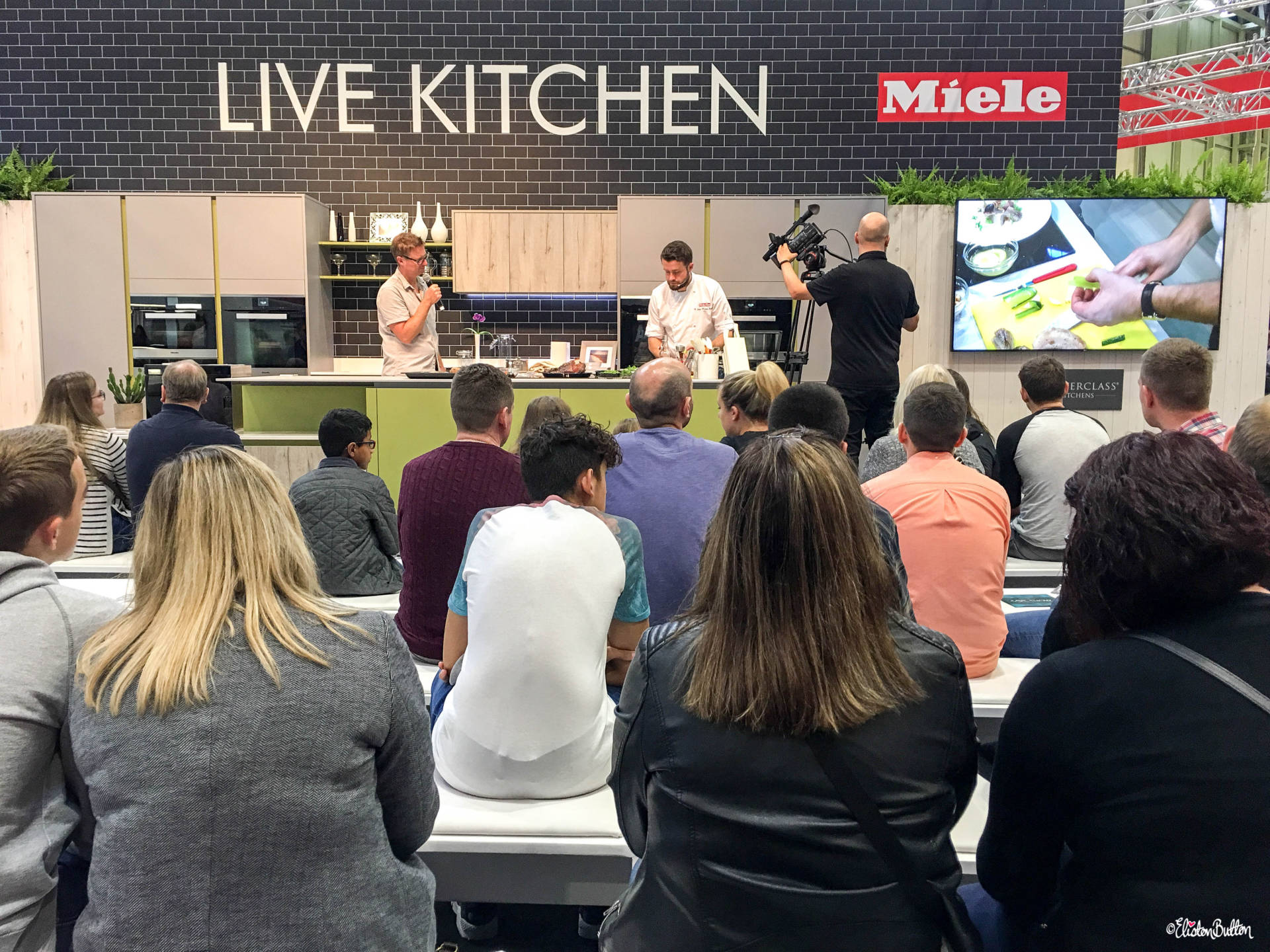 Live Kitchen Stage at Grand Designs Live 2017 with Eliston Button - Grand Designs Live 2017 – Part Two at www.elistonbutton.com - Eliston Button - That Crafty Kid – Art, Design, Craft & Adventure.